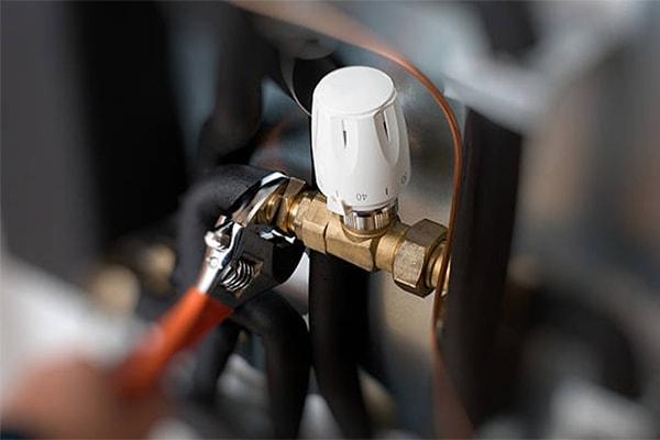 vvs lyngby varme termostatventil